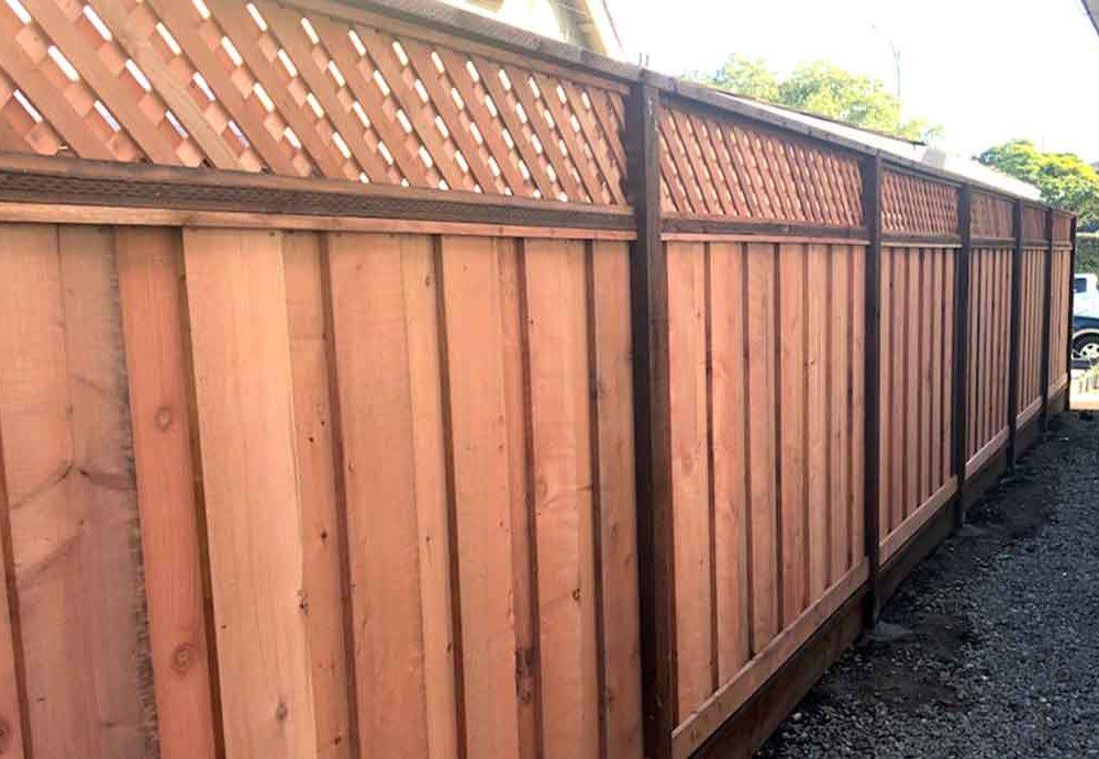 Good Neighbor Board on Board Fence